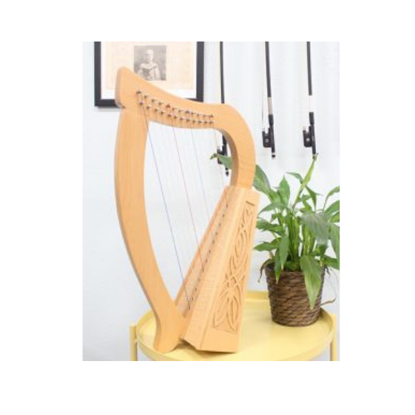 12 string knee harp WA Music