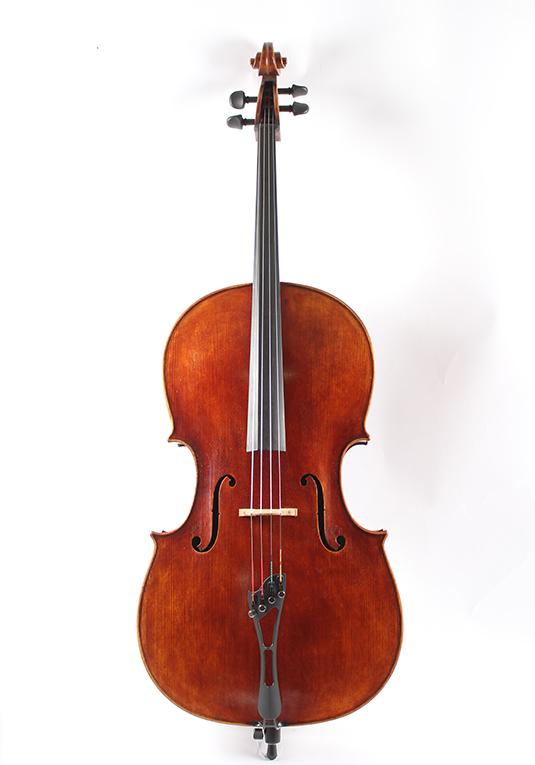 Jay-Haide-Cello-Statue-Montagnana-Model-WA-Music-Co