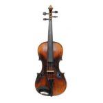 Vintage Violin Czech Circa 1920 VN 1368