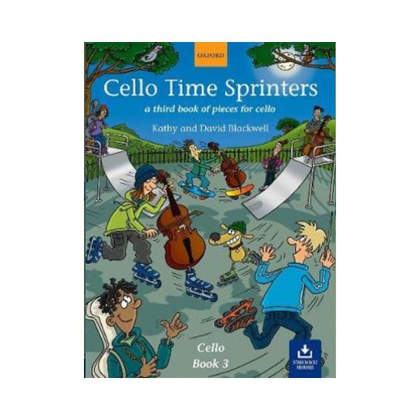 Cello Time Sprinters BK/ CD