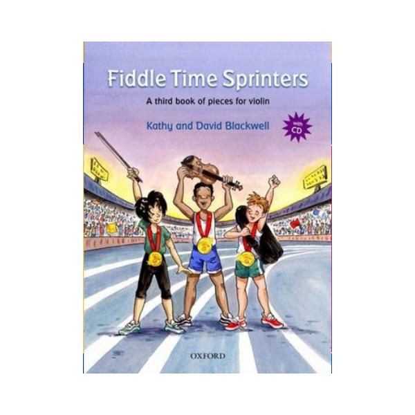 Fiddle Time Sprinters Violin Bk/ CD