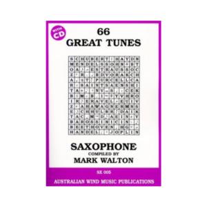 66 great tunes tenor sax