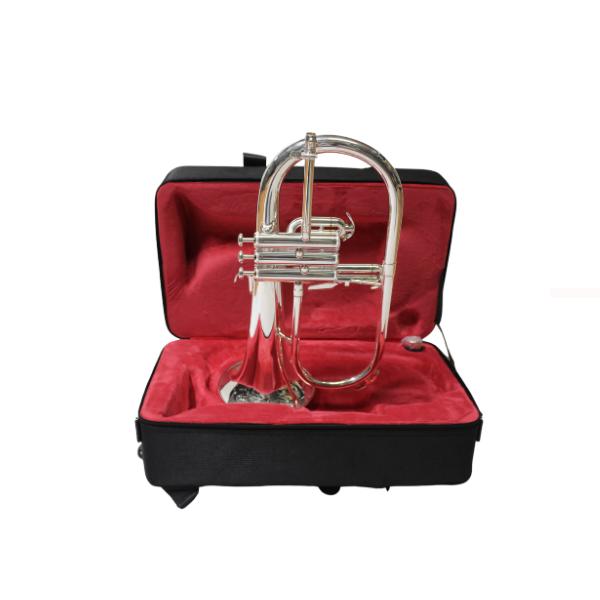 flugel horn silver plated martin