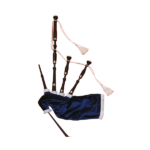Shepherd S/1 Bagpipes : This is a lovely bagpipe equipped with: imitation ivory ring caps nickel ferrules turned African Blackwood construction For any queries, send us an email, call or come in store.