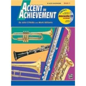 Acc Achieve Alto sax Bk 1